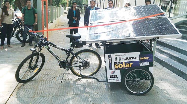 IIT solar cycle, india solar cycle, IIT innovation solar cycle, india solar cycle tour, solar cycle in india, IIT mumbai solar cycle, mumbai news, india news