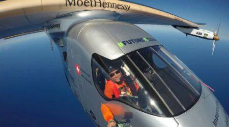 Solar Impulse 2 lands in Ohio after flight from Oklahoma