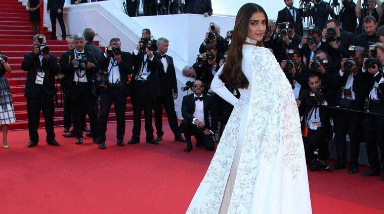 Sonam Kapoor, Sonam Kapoor cannes, cannes, cannes 2016, neerja, sonam dress at cannes, sonam dress, Sonam Kapoor look, Sonam Kapoor photos, Sonam Kapoor news, Sonam ar cannes, entertainment news