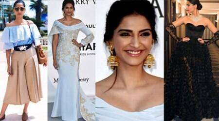 Cannes 2016: When Sonam paired her Ralph and Russo gown with jhumkas at the amfAR Gala
