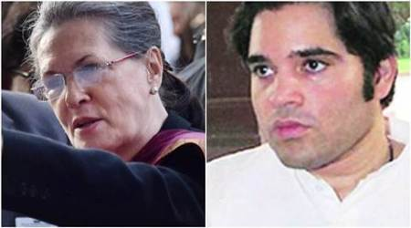 Not satisfied with minister's response to Varun query, Sonia seeks'jawab'