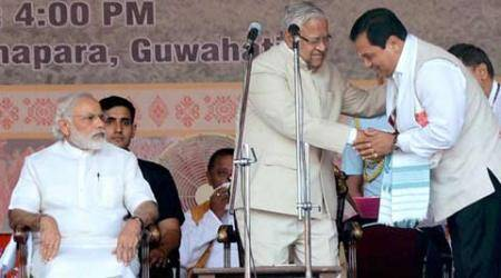 Assam: Many old faces in new Sarbananda Sonowal Cabinet