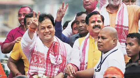 Assam elections, assam election results, sarbananda sonowal, narendra modi, Assam assembly elections 2016, BJP Assam election results 2016, India news