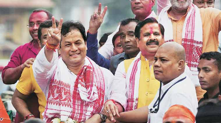 assam, assam elections 2016, assam assembly elections 2016, elections 2016, bjp win, historic bjp win, elections bjp assam, narendra modi, Sarbananda Sonwal, election news, india news