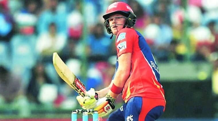 The Englishman scored 54 on his IPL debut. PTI