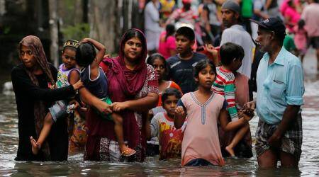Indian Navy teams join Lanka flood rescue ops;toll reaches193