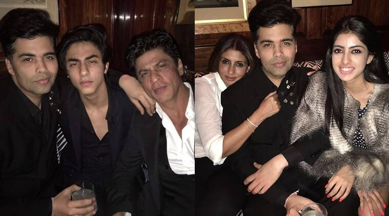 Karan's birthday bash