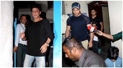 Shah Rukh Khan, Hrithik Roshan's day out