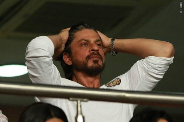 Shah Rukh Khan, son AbRam in attendance as KKR rise to top of the IPL 2016 table