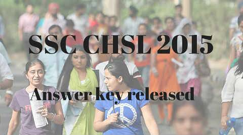 Ssc Chsl 2015 Answer Key Pdf