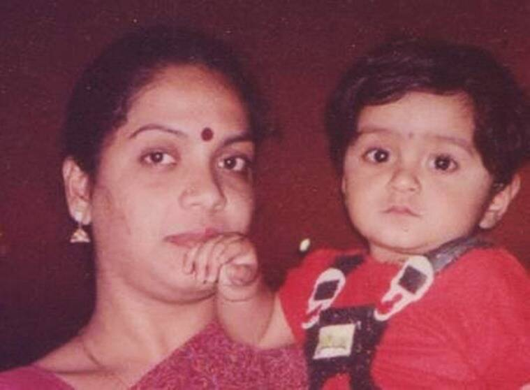 Subhashini Venkatesh and her mother.