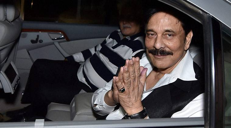 sahara, subrata roy, sahara subrata roy, subrata roy tihar jail,sahara chief, subrata roy bail, subrata roy parole, subrata roy arrest, business news, india news