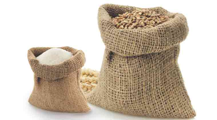 Madhya pradesh, soil in wheat bags, madhya pradesh wheat bags, wheat bags, madhya pradesh wheat warehouse, latest news, india news, indian express