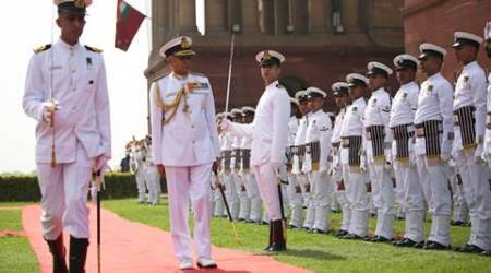 Indian Navy, Indian Navy Chief, Chief of Indian Naval staff, Indian Armed Forces, Admiral Sunil Lanba, Admiral Rk Dhowan,