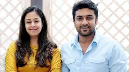 Film with Jyotika will be announced in May:Suriya