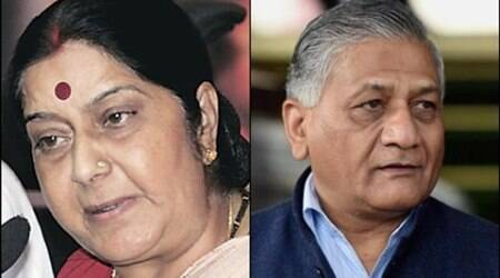 VK singh, sushma swaraj, vk singh on africans, attack on africans, attack on african nationals, attack on african students, africans in delhi, delhi african attack, delhi african national, delhi congolese national, sushma swaraj, rajnath singh
