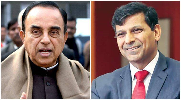Raghuram Rajan, Subramanian Swamy, Swamy Modi, Swamy Rajan letter, RBI, Narendra Modi, swamy letter to modi, politics, news, india news, rbi governor