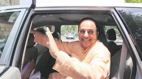 Subramanian Swamy, Rajya Sabha, AgustaWestland, Congress, Subramanian Swamy Rajya Sabha, Subramanian Swamy congress, A K Antony, Sonia Gandhi, Subramanian Swamy congress attack, parliament news, india news