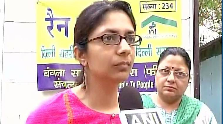 DCW, Swati Maliwal, night shelters, delhi night shelters, women night shelters, Delhi Commission for Women, DCW chief, Delhi Commission for Women chief, Swati Maliwal night shelters, delhi night shelters, delhi news