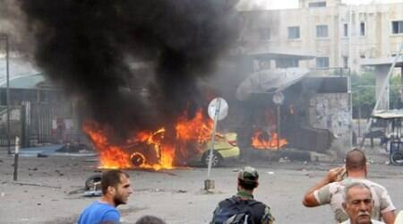 Blasts kill more than 100 in Syrian government stronghold:Report