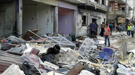 Blast targets al-Qaeda office in Syria, causing casualties