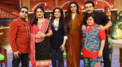 Tabu, Juhi Chawla's fun filled moments on Comedy Nights Live