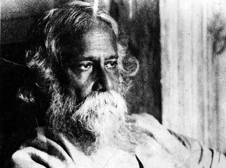 Tagore's rather peculiar, bordering on the eccentric, tastes often threw the household into a state of panic. (Express archive photo)