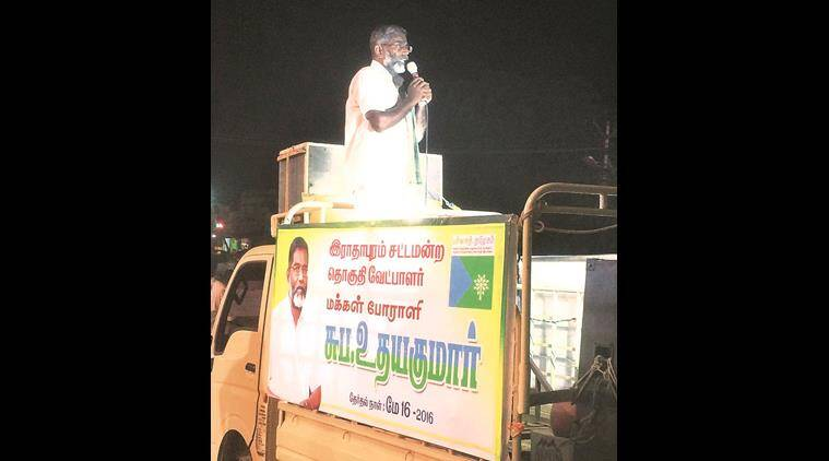tamil nadu, Kudankulam nuclear power plant, Kudankulam nuclear plant protest, tamil nadu nuclear plant protest, Green Tamil Nadu, tamil nadu nuke plant protest, tamil nadu green party, S P Udayakumar, tamil nadu S P Udayakumar, tamil nadu news, India news, latest news