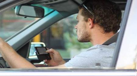 Sixth sense protects you while driving, except while you aretexting
