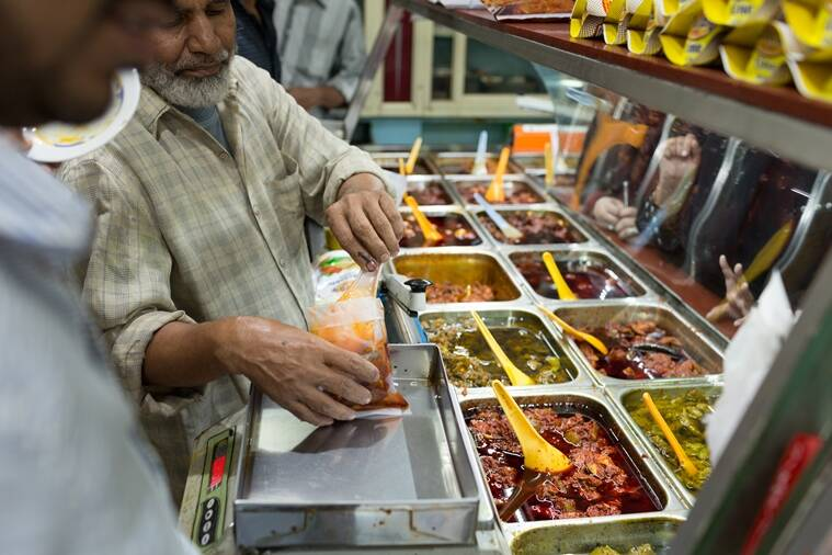 The suburb of Nampally, in Hyderabad, is pickle central, and hosts a variety of pickle stores. (Photo: Sanjay Borra)