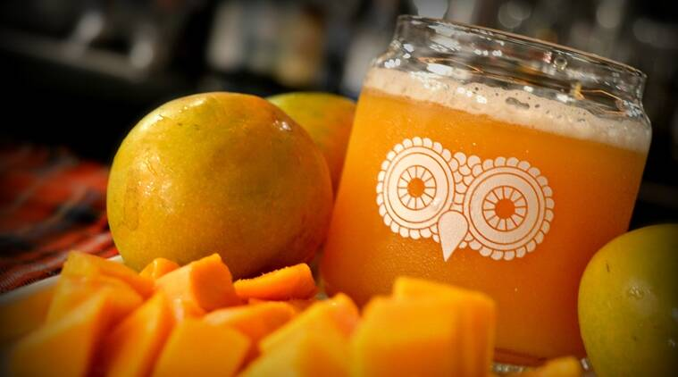 The White Owl's Mango Ale.