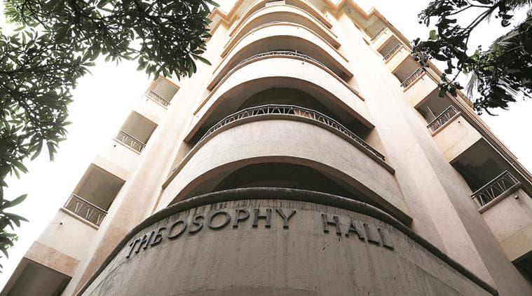 Theosophy Hall, mumbai Theosophy Hall, Mumbai's iconic buildings, Churchgate, mumbai Churchgate, United Lodge of Theosophists, ULT, mumbai, mumbai news, indian express mumbai