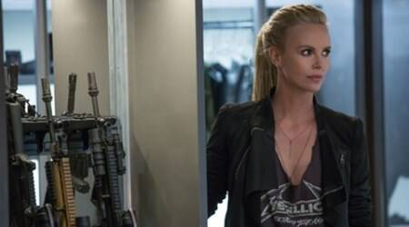 Charlize Theron's look from 'Fast & Furious 8' revealed