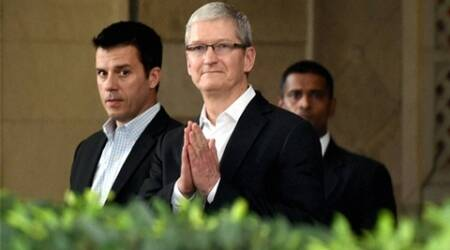 Tim Cook, Cook India visit, Cook Apple, Apple CEO, Apple, Shah Rukh Khan, Rajiv Shukla, IPL, IPL news, IPL updates, sports news, sports, cricket news, Cricket
