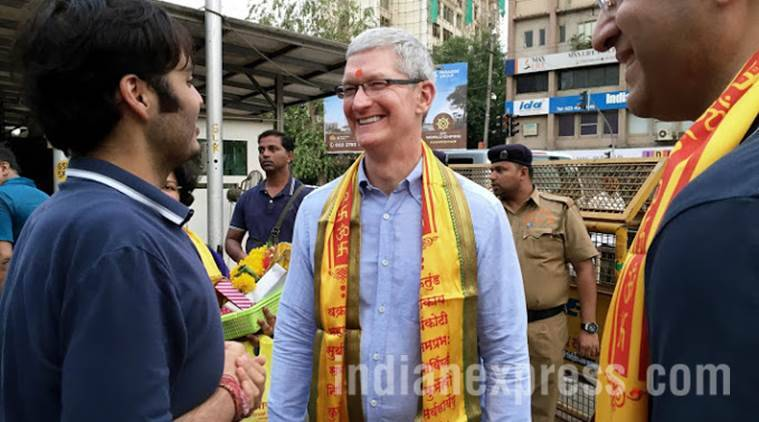 Apple iOS centre, Apple Tim Cook, Tim Cook India, Tim Cook India visit, Apple, Apple Bengaluru, Apple Hyderabad development centre, Apple Bengaluru iOS centre, Apple iOS App Development centre, tim cook Apple iOS, technology, technology news