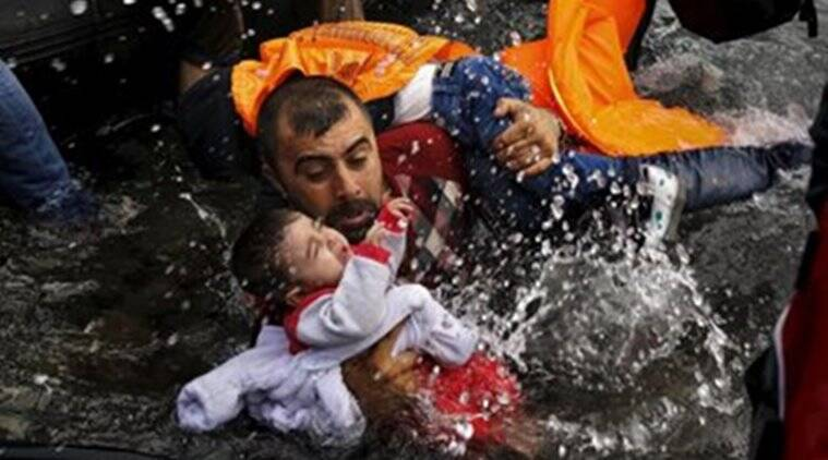 Europe migrant crisis: NGO publishes photo of drowned baby hoping EU to take stern action