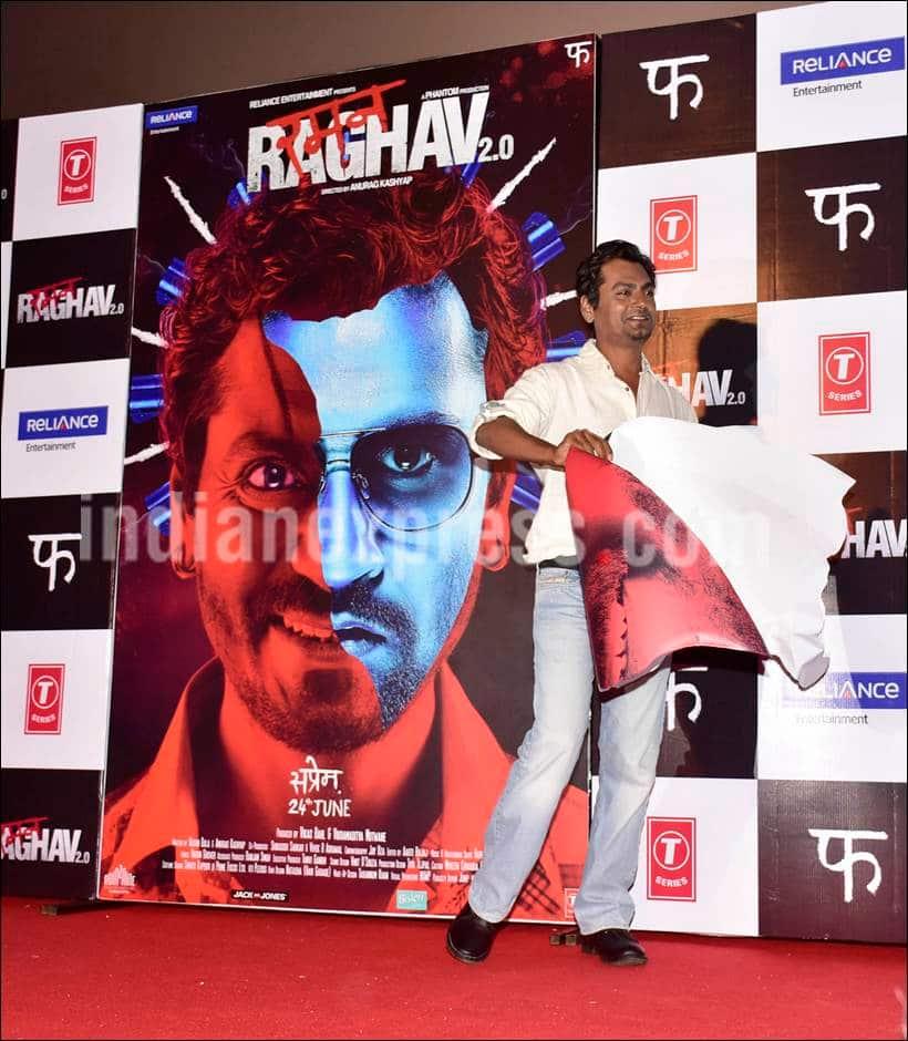 Nawazuddin Siddiqui, Raman Raghav 2.0 trailer launch, Raman Raghav 2.0 trailer, Raman Raghav 2.0 cast, Vicky Kaushal, Anurag Kashyap, Nawazuddin Siddiqui, Vicky Kaushal, Anurag Kashyap film, entertainment photos