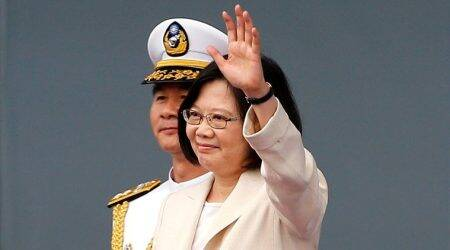 Taiwan president arrives in Hawaii despite Chineseobjections