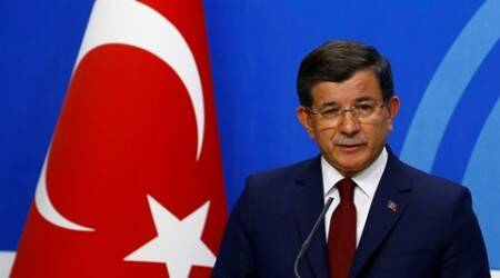 Turkish Prime Minister Ahmet Davutoglu announces decision to step down