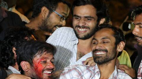 jnu, jnu row, jnu feb 9 videos, jnu sedition case, kanhaiya kumar sedition case, kanhaiya kumar, umar khalid, jnu afzal guru row, delhi court jnu row, jnu doctored video, jnu news, latest news,