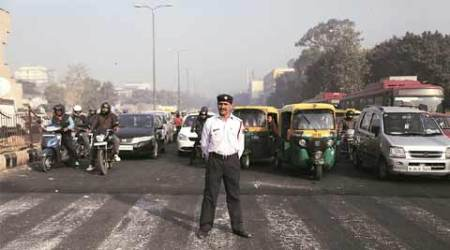 Delhi: Cop hit by speeding car he was trying to stop, critical
