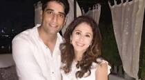 Don't newlyweds Urmila, hubby Mohsin look very much in love in this photo?