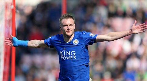 Jamie Vardy named Football Writers' Association's  Player of the Year