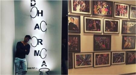 Varun Dhawan shares picture of Dharma Productions newoffice
