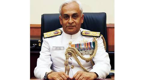 Sunil Lanba, Vice Admiral Sunil Lanba, new navy chief, indian navy, indian navy chief, new navy chief, navy chief Vice Admiral Sunil Lanba, india news, latest news,