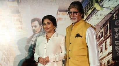 Amitabh Bachchan, Vidya Balan unveil TE3N'strailer