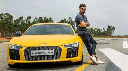 Virat Kohli launches Audi R8 V10 Plus priced Rs 2.47 cr