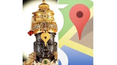 Swami finds proof of God's omnipresence in Google's location icon