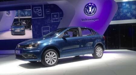 Volkswagen's 'Ameo' launched, in showrooms by July 2016
