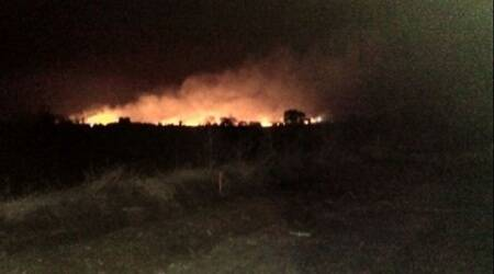 Fire in Pulgaon army depot, which killed 16, completely doused, says militaryofficial